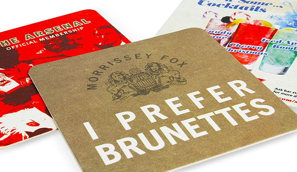 Beer Mat Round Or Square Uk Corporate Gifts