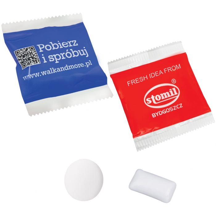 Two sugar free chewing gums in a wrapper uk corporate gifts two sugar free chewing gums in a wrapper negle Gallery