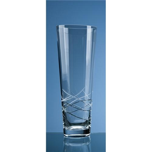 35cm Tiesto Cut Conical Vase