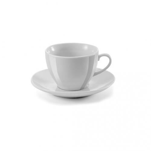 Porcelain Cup And Saucer Duo