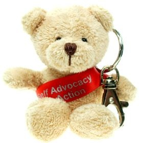 10 cm Toby Keyring Bear with Sash
