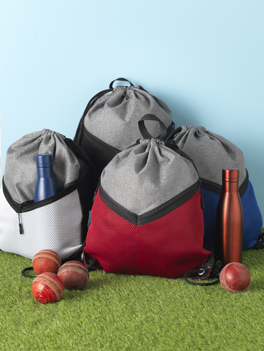 promotional drawstring sport bags are versatile with space for product or service promotion