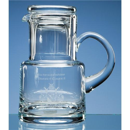 Lead Crystal Jug Up