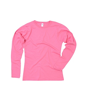Ladies Long Sleeved Softstyle T-Shirt