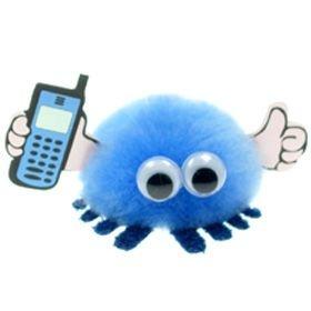 Mobile Phone Handy Logo Bug