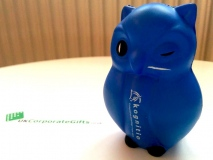 Promotional Stress Toy Owl that Gives a Hoot about Data #ByUKCorpGifts