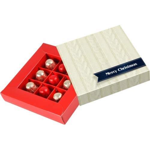Chocolate Christmas Bells in a Box