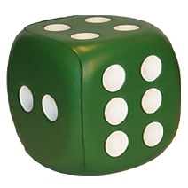 Small Dice Stress Toy