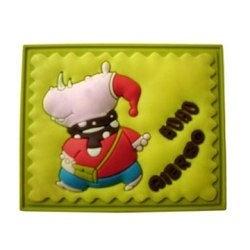 3D Soft PVC Badge