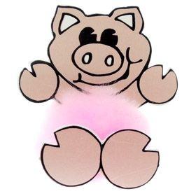 Fun Pig Logo Bug