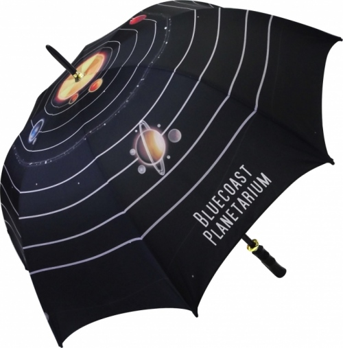 Eclipse Black Medium Umbrella