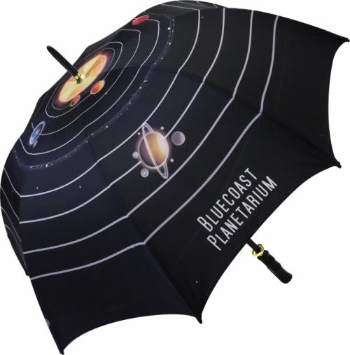 Eclipse Black Medium Umbrella