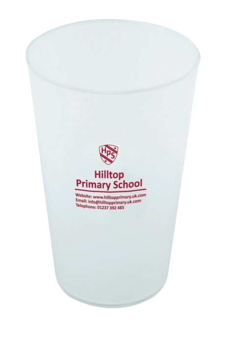 400ml Clear Drinking Cup