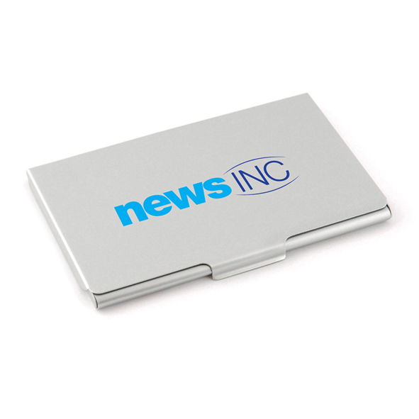 Sordina aluminium business card holder uk corporate gifts sordina aluminium business card holder reheart Gallery
