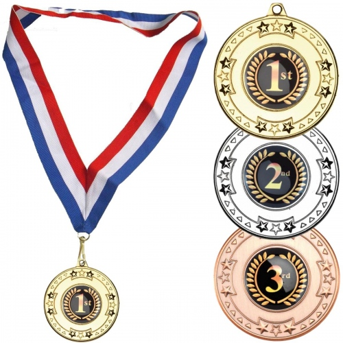 Medal with Stars Design