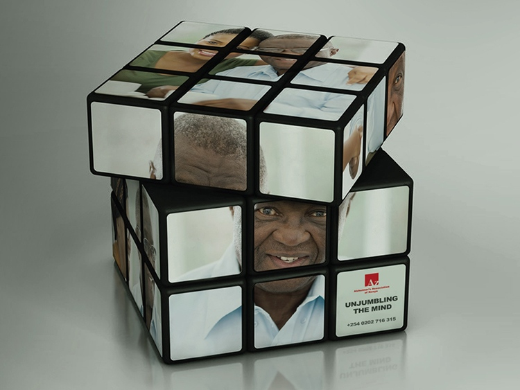 Promotional Rubik's Cubes Increase Alzheimer's Awareness #CleverPromoGifts