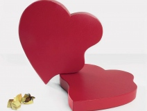 Promotional Valentine's Chocolate Boxes Raise Heart Condition Awareness #CleverPromoGifts