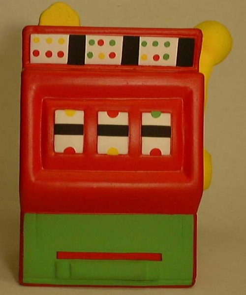 Fruit Machine Stress Toy