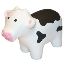 Cow Shaped Stress Toy