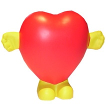 Heart Man Stress Toy