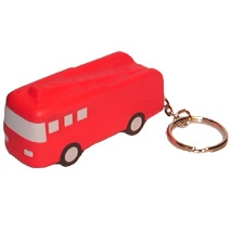 Fire Engine Keyring Stress Toy