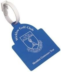 Sunrise Golf Bag Tag