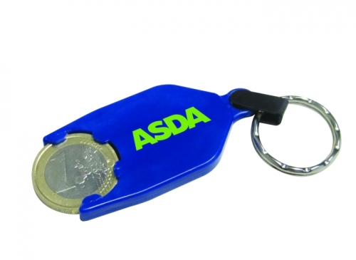 Trolley Token Keyring Duo