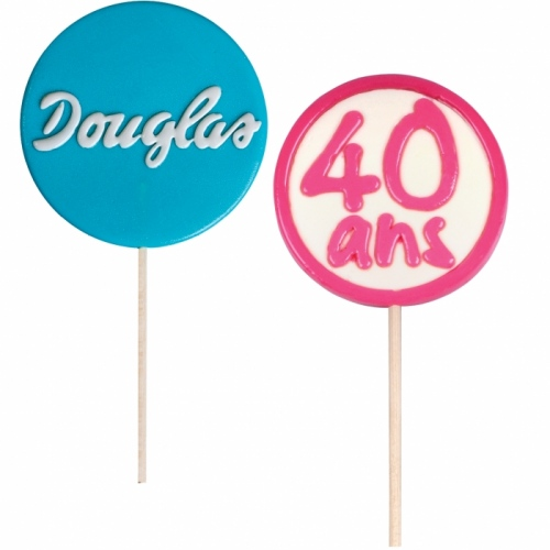 Large Lollipop with Sugar Logo