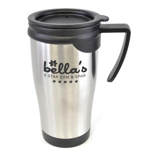 Dali Silver Travel Mug