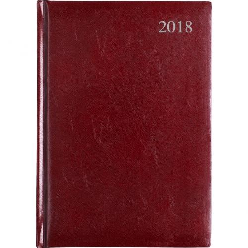 Leathergrain Daily A5 Desk Diary