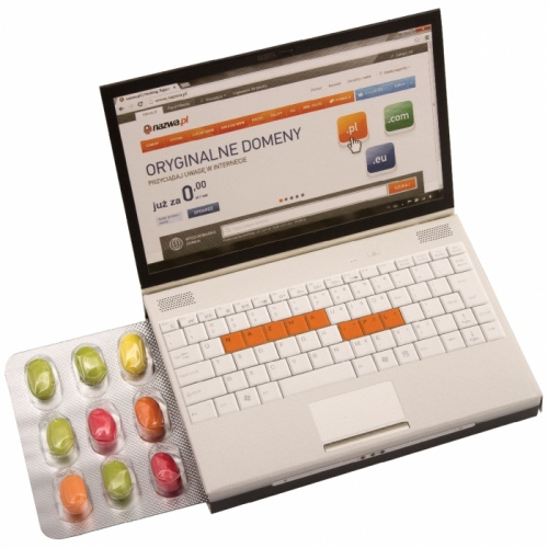 Mini Laptop with Minis Pastilles