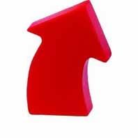Curved Arrow Stress Toy