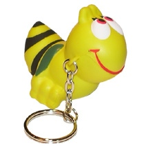 Wasp Keyring Stress Toy
