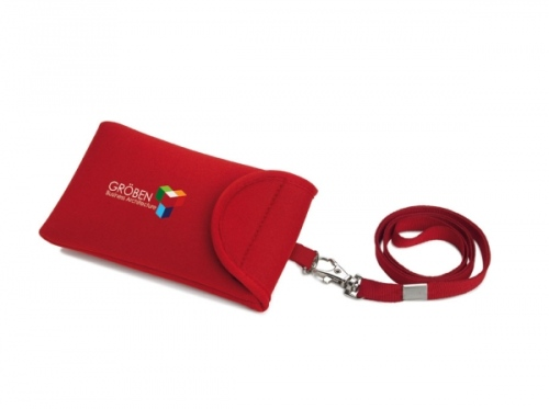 Lanyard With Mobile Pouch