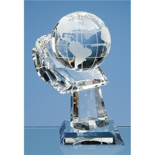 80 mm Optic Globe on Hand