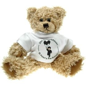 25 cm Windsor Jointed Bear in a T-Shirt