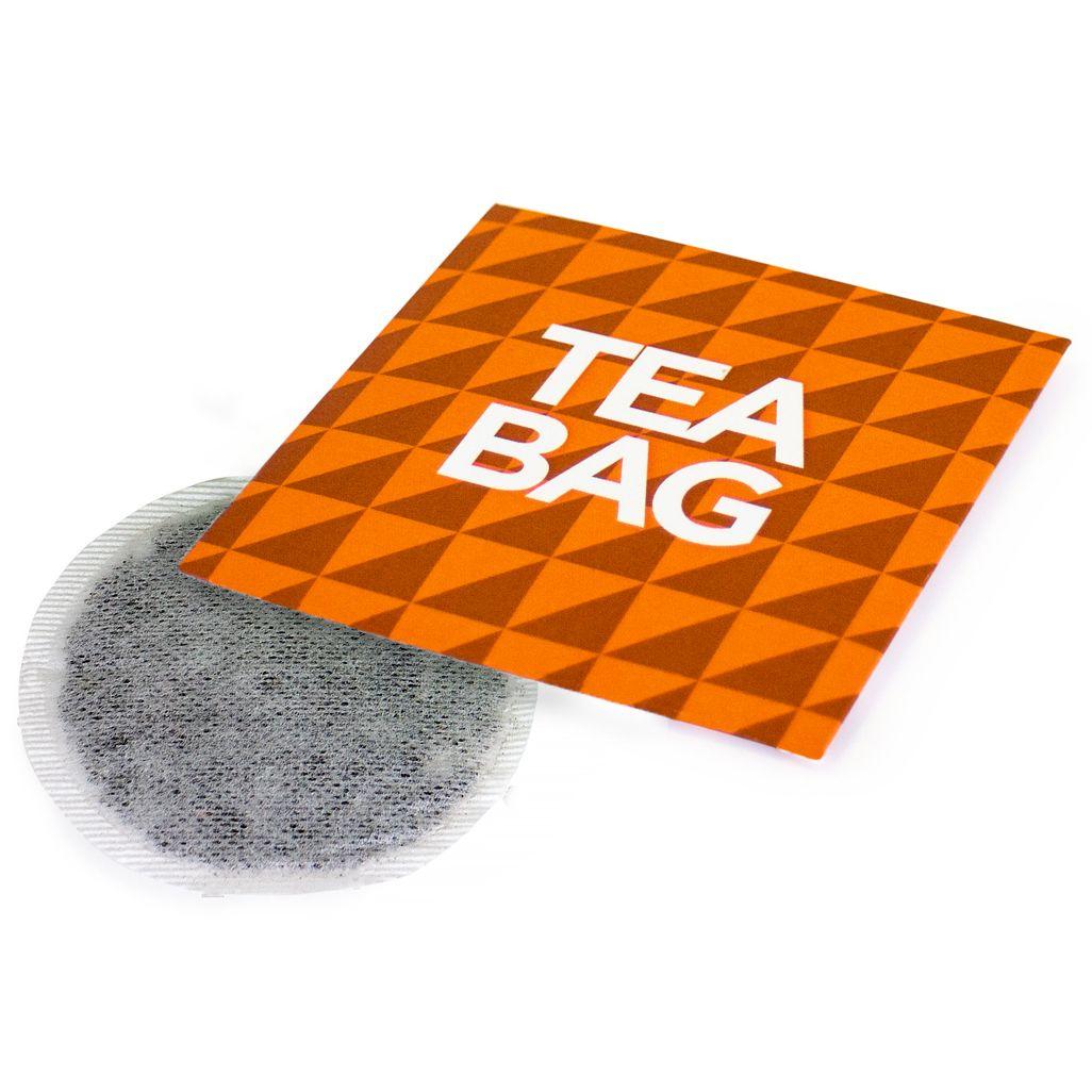 Single Tea Bag in an Envelope