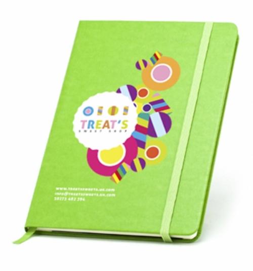 A5 Hardbacked Notebook