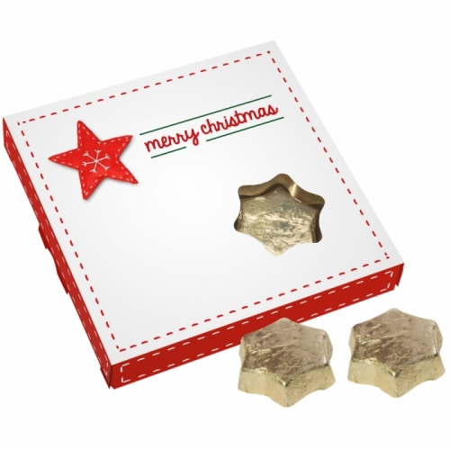 Chocolate Stars in a Box