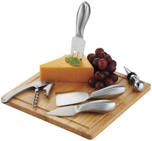 Mino 6-Piece Wine And Cheese Set