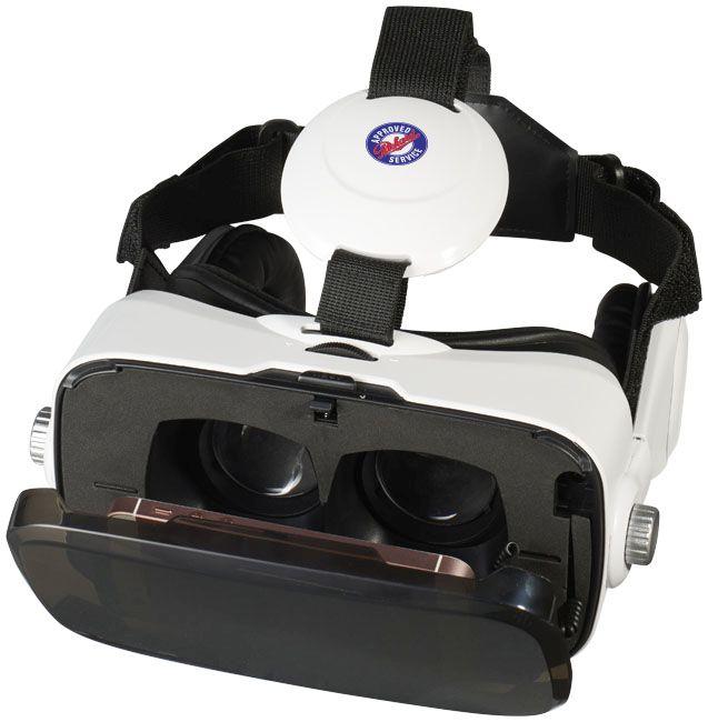 Galaxy Virtual Reality Headset And Headphones