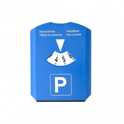 Parking Disc Scraper And Coins