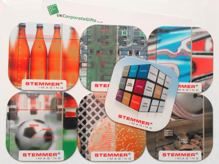 Promotional Brite™ Coasters Deliver Imaging Perfection #ByUKCorpGifts