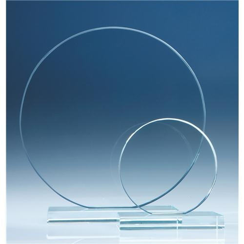 10cm Clear Circle Award