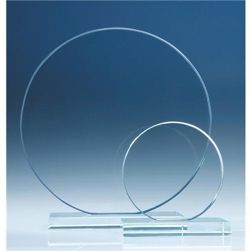 10cm Clear Circle Award