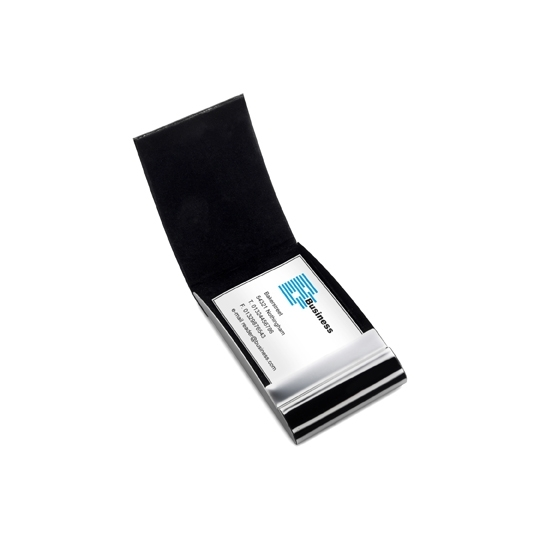 Metal business card holder uk corporate gifts metal business card holder reheart Image collections