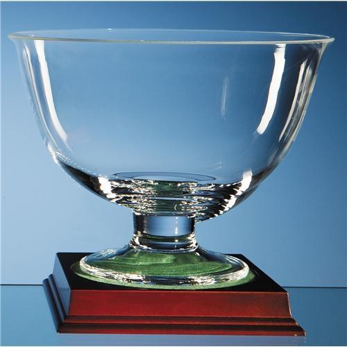 23cm Plain Pedestal Bowl