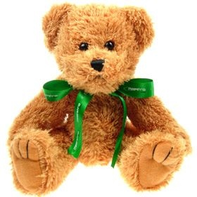 25 cm Sparkie Jointed Bear with Bow