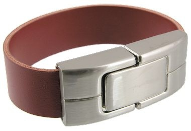 Leather Wristband USB Flash Drive