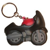 Motorbike Stress Toy Keyring